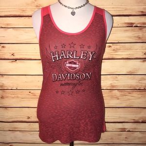 Harley-Davidson Red Classic Tank Top